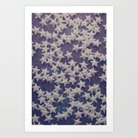 starry night Art Prints featuring Starry Starry Night (1) by Karin Elizabeth
