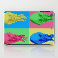 lsd iPad Cases featuring Doctor Who: Ood on LSD by InvaderDig