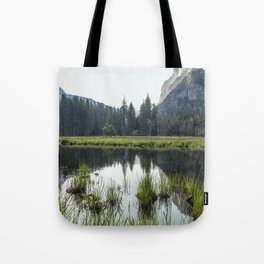 Morning In Cook's Meadow Tote Bag