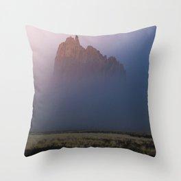Hidden in the mist Throw Pillow