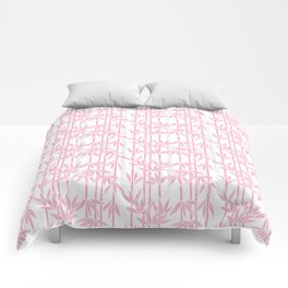 Bamboo Rainfall in Blushing Bride Comforters