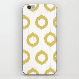Mustard Ikat iPhone Skin