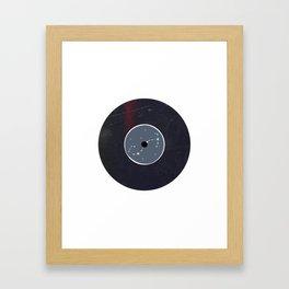 Vinyl Record Zodiac Sign Scorpio Framed Art Print