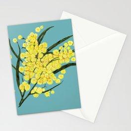 Wattle Australian Native Flower Stationery Cards