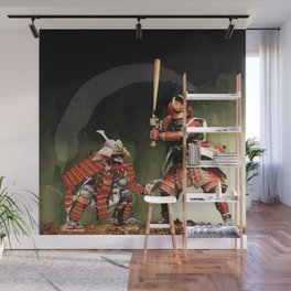 Samurai Warriors Baseball Furies Wall Mural