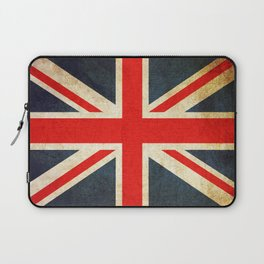 Vintage Union Jack British Flag Laptop Sleeve
