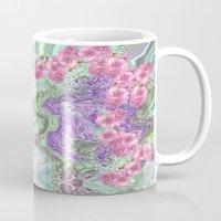 romantic Mugs featuring Romantic by Vargamari
