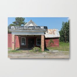 Old Country Store | Western NC Metal Print