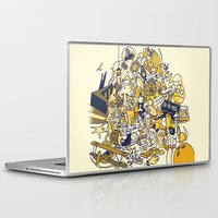 movies Laptop & iPad Skins featuring Movies Explosion by zaMp