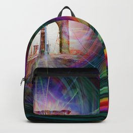 Our world is a magic - Time Tunnel 101 Backpack