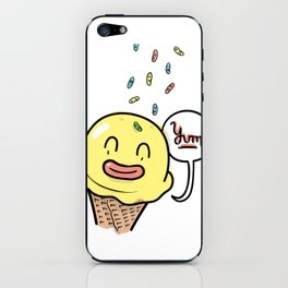 Friends Go Better Together 6/7 - Ice Cream and Sprinkles iPhone Skin