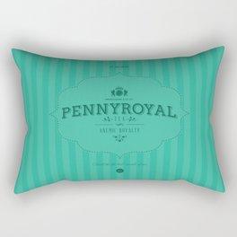 Pennyroyal Tea Rectangular Pillow