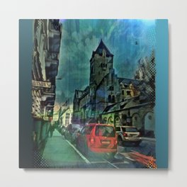 Chapel Street Nights Metal Print