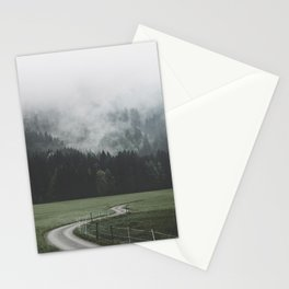 road - Landscape Photography Stationery Cards