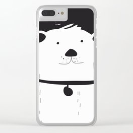 The Dog Clear iPhone Case