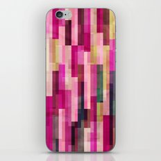 Pinks and Parallels iPhone & iPod Skin