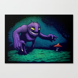 Shroompicker Canvas Print