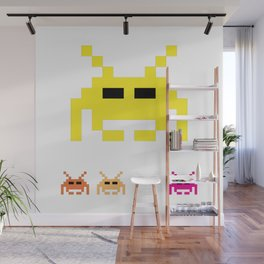 Invaders Wall Mural