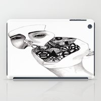 robot iPad Cases featuring Robot by kaylinicole