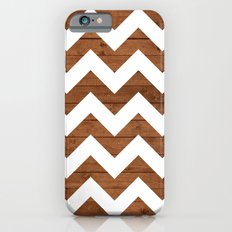 Chevron Wood iPhone 6 Slim Case