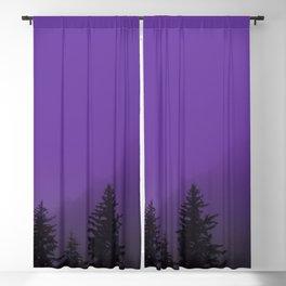 Ultra Violet Fog - Seward Alaska Blackout Curtain