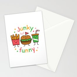 Junky but Funny Stationery Cards