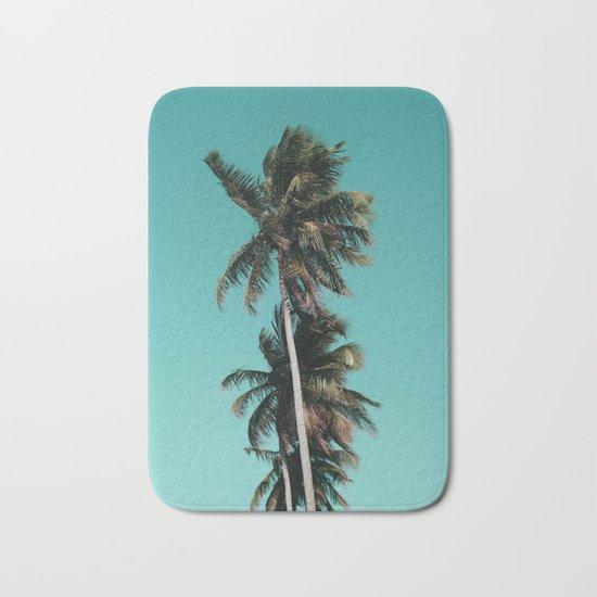 Palm tree vibes Bath Mat