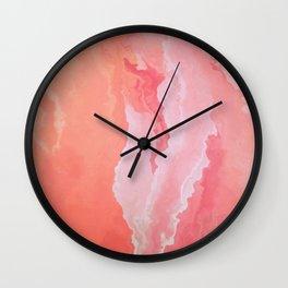 Peachpink Wall Clock
