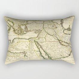 Map of the Ottoman Empire (1654) Rectangular Pillow