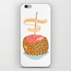 Caramel Apple om nom nom iPhone & iPod Skin