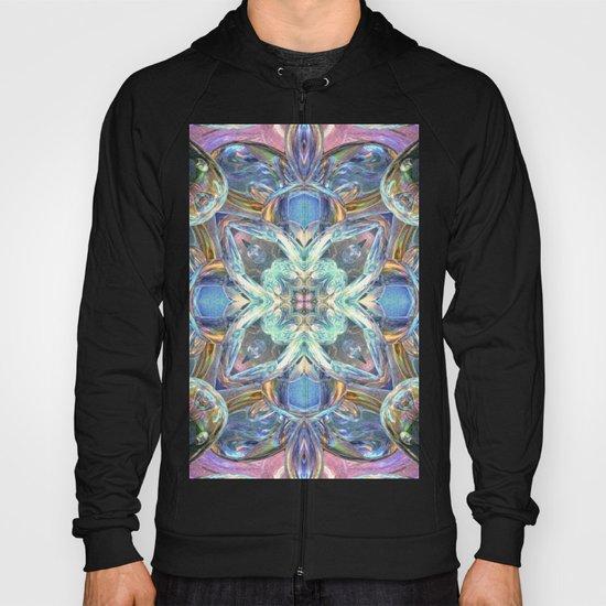 Colorful Kaleidoscope Reflections Hoody