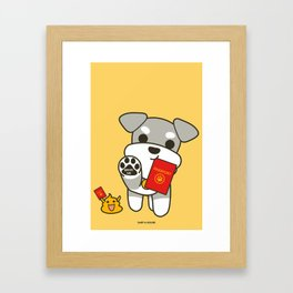 Bring Me With You! Framed Art Print