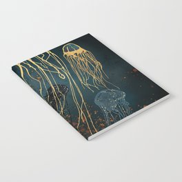 Metallic Jellyfish Notebook