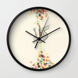 A Perceptible Hesitation Wall Clock