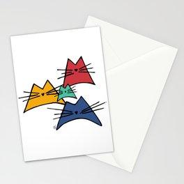 Nala Cat Hand Drawn Classic Blue Stationery Cards