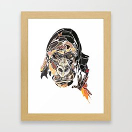 Harambe 2 Framed Art Print
