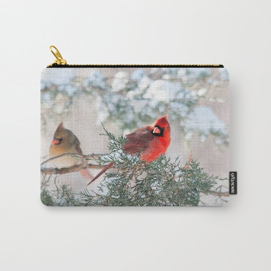 Remembering.... (Northern Cardinals) Carry-All Pouch
