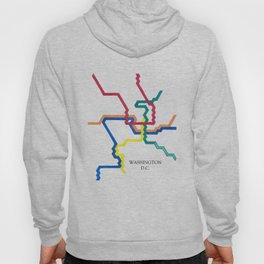 Washington D.C. Metro Hoody