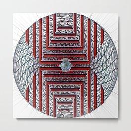 Abstract - Looking at you Metal Print