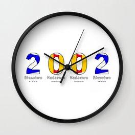 2002 - NAVY - My Year of Birth Wall Clock