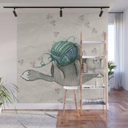 Cat Wall Mural