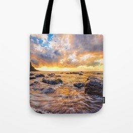 Maia beach Tote Bag