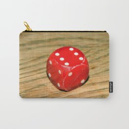 Dice on the table Carry-All Pouch