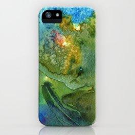 Grün iPhone Case