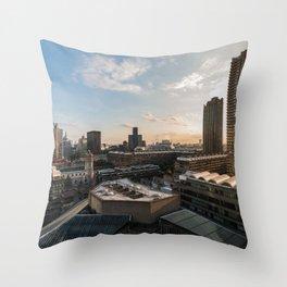 London, Barbican Throw Pillow