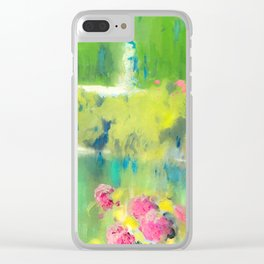 Spring Garden - Painting Clear iPhone Case