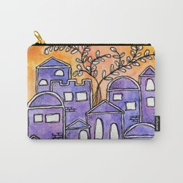 Jerusalem - Yerushalaim Carry-All Pouch