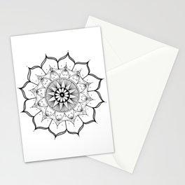 Mandala Star Ink Art Stationery Cards