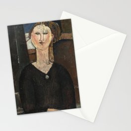 Amedeo Modigliani - Antonia (1915) Stationery Cards