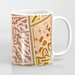 Pink Tile Coffee Mug